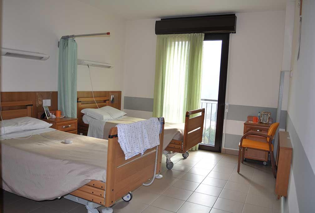 Le stanze casa di riposo s giuseppe pedemonte - Disposizione stanze casa ...